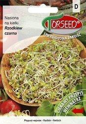 Rzodkiew czarna - Nasiona na kiełki 10g