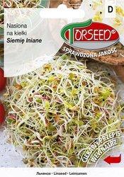Siemię lniane - Nasiona na kiełki 10 g