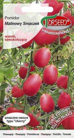 Pomidor wysoki Malinowy Smaczek – typ cherry 0,1 g