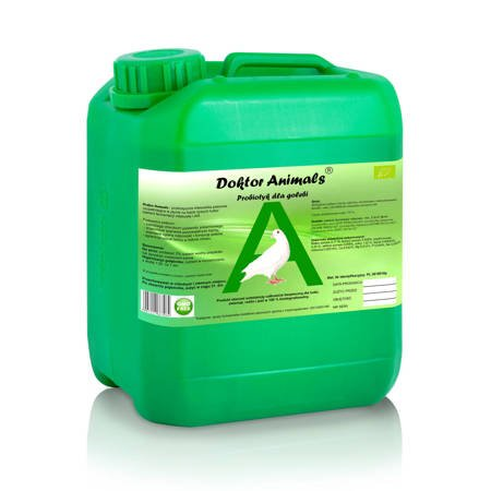 Probiotyk dla gołębi i ptaków ozdobnych – Doktor Animals  10 L