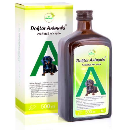 Probiotyk dla psów – Doktor Animals 0,5l