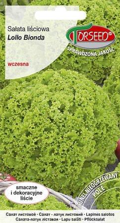 Sałata liściowa Lollo Bionda – zielona 0,5 g